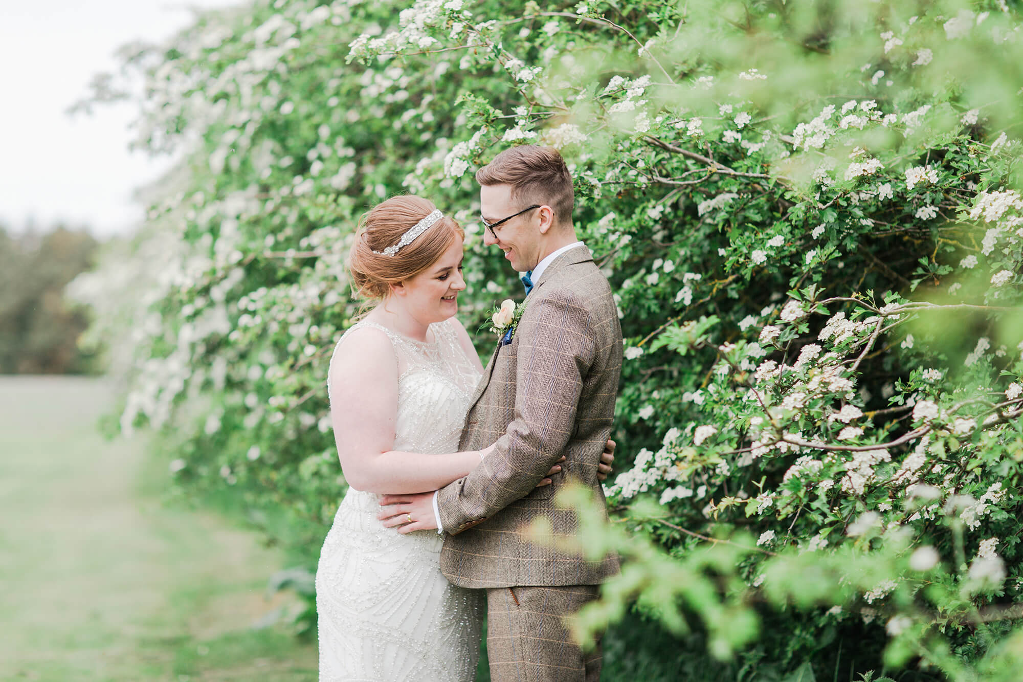 Newly married couple photoshoot